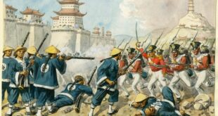 The Humiliation of China: The 98th Regiment of Foot at the attack on Chin-Kiang-Foo, 21 July 1842.