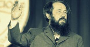 Men have forgotten God: Alexandr Solzhenitsyn