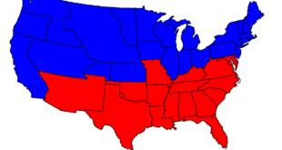 The end of the United States? Civil War divide, Herland Report