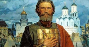 Russian history with ruthless Mongols: Dmitry Ivanovich Donskoy of Moscow. Herland Report